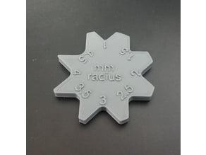 Radius Gauges 1-10mm