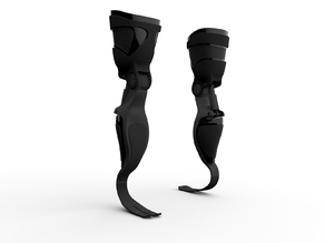 Prosthetic leg from GrabCAD by Dexter