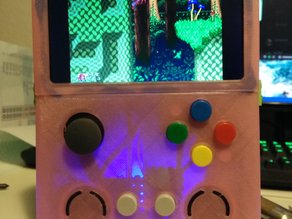 VertBoy - Vertical Raspberry Pi 2 Portable Game System