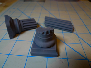 Roman Columns for 28mm Gaming
