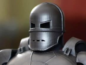 1.Head of Iron man Mark 1