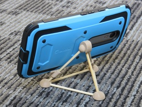 Cell Phone Stand with Skewers