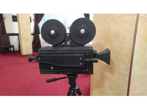 Old Video Camera as wedding envelope box