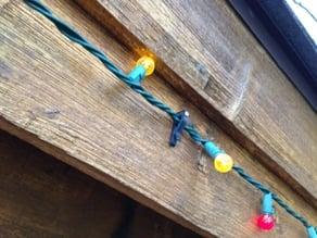 Christmas Light String Clip