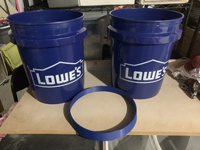 Space Bucket 5 gallon spacer (lowes)