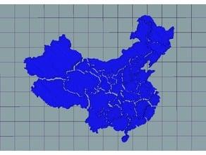 China Map Puzzle