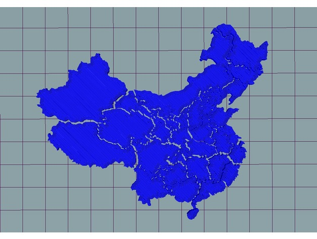 China Map Puzzle.China Map Puzzle By 2c2know Thingiverse