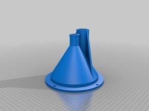 Filament Extruder Hopper d.30mm