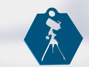 SC Telescope Keychain