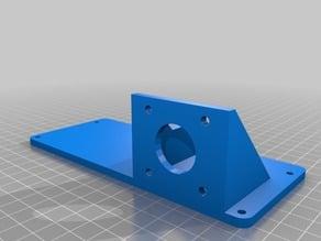 Anet A8 Extruder Mount for E3D Bowden (Remix)