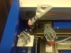 Modified laser pointer holder for K40 laser cutter