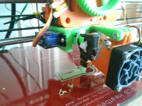 Bed Auto Leveling for Prusa i3 with J-head (6mm)