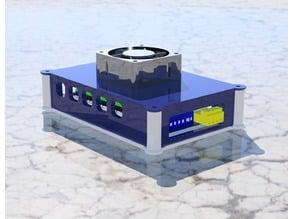 Easy printing modular MKS Gen enclosure