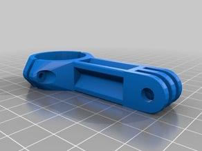 GoPro fork steerer tube mount