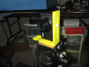 """Generic Camera Tripod """"L"""" Bracket"""