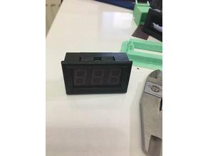 """0,56"""" Voltmeter Ammeter holder for 2020 or 20x20"""