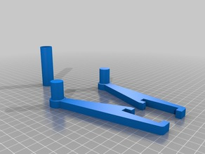 FilaFlex Holder for Prusa i3 Hephestos