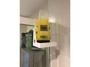 Shower screen, shower gel holder