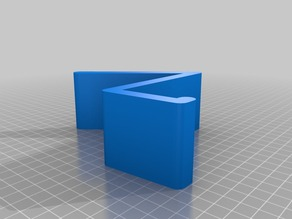 Parametric Book Stand Display with Lip