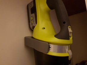 Ryobi Vacuum wall mount