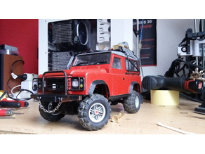 Fully 3D printable Land Rover Defender/Gelande/D90 body
