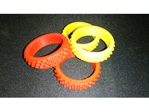 Knurled Ring EDC Fidget Widget