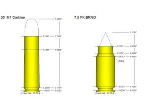 FK BRNO 7.5mm Round