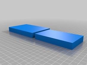 Customized Parametric rounded corner box 65 x 107 x 15