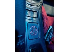 Scion FR-S, Subaru BRZ, Toyota GT86 center plaque + logo