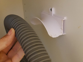 Hose holder for vacuum cleaner