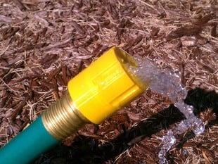 Garden Hose Flow Control, 0.5 gpm.