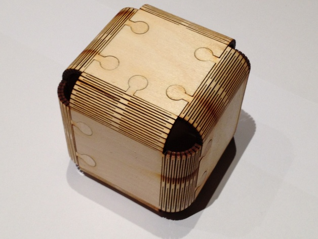 Lasercut Cube By Jjb Thingiverse