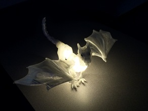 Ode to Braq dragon:  Light it up!!! With mini led string