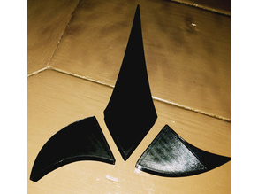 Trekkie Klingon Wall Art