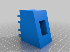 Prusa i3 clip on switch mount