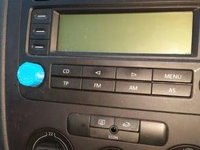 VW Golf Car Stereo Button