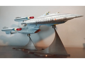 All Good Things Future Enterprise NCC1701 Toy Stand - Art Asylum (AA) / Diamond Select Toys (DST)