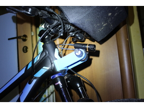 Bike additional accessory holder (light mount)