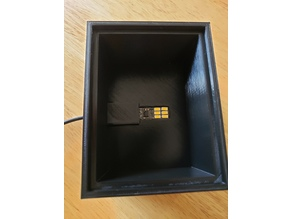 Lithophane Light Box with USB LED touch dimmer