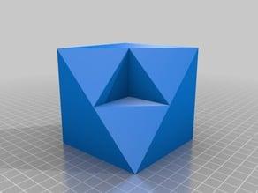 Figuras 3D para trabajar la obtención de vistas ortogonales VI