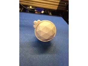 3D printable Xmas light covers