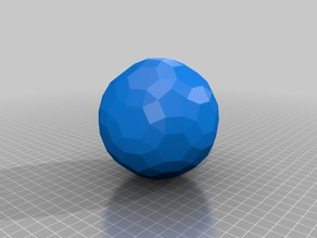 geometric ball(upgraded buckyball)