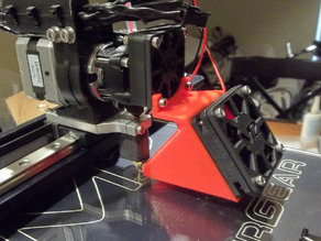 Makergear M2 Single V4 Extruder Fan Shroud