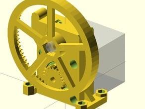 Radus mini extruder nema17 with hobbed bolt