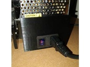 TronXY P802E PSU Cover (Fused IEC)