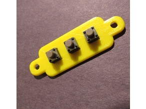 Tactile Switch Mount (X3)