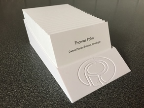 Palmiga Business Card Stand