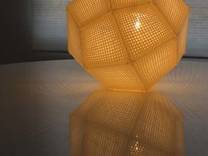 PrintShade 120 - Tom Dixon's Etch Shade inspired Lamp