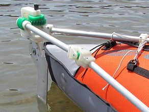A Better Rudder (for Inflatable Kayak)