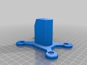 Biltema Pegboard(12mm spacing 4mm hole). Ryobi One+ tool mount
